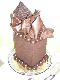 megan chocolate tower.JPG